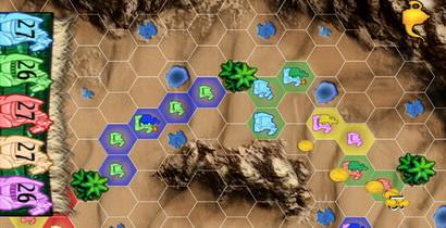 Reiner Knizia's Through the Desert